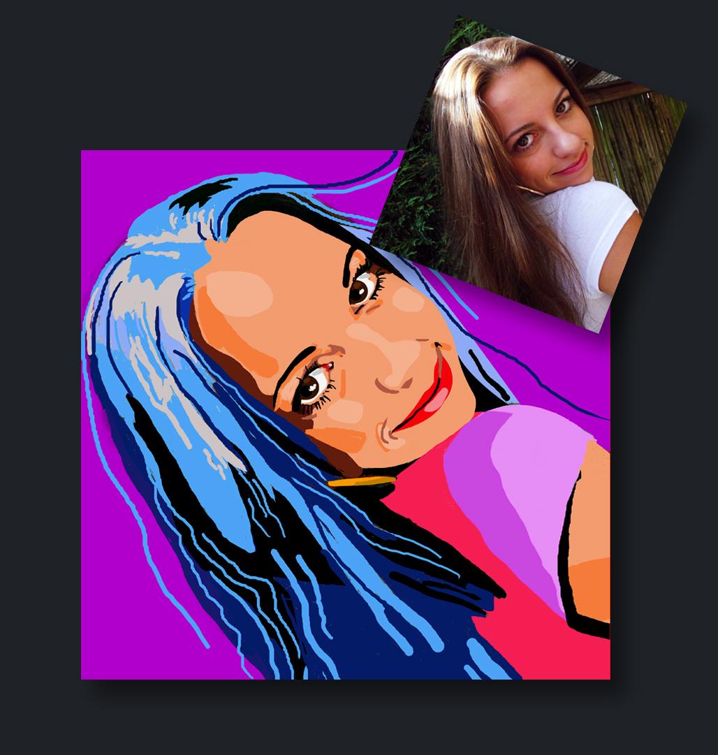 pop art fotobewerking venlo